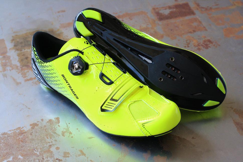 Bright Orange Men S Cycling Shoes