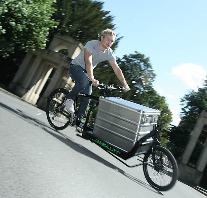 First Look Bullitt Cargo Bike Road Cc