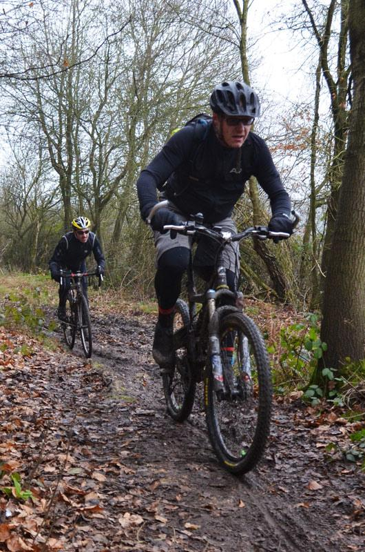 Ride Report Woodcote Cx Sportive Mud Larking In The