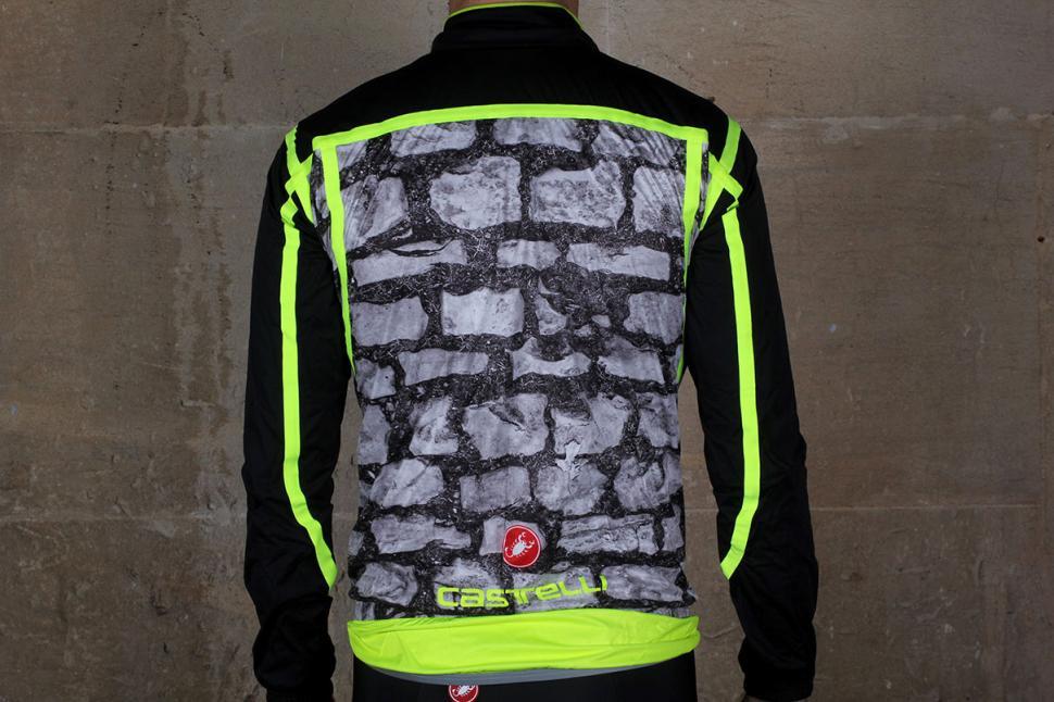 Castelli Pave Jacket Back