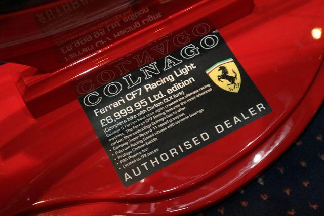 Colnago Ferrari (not cheap then)