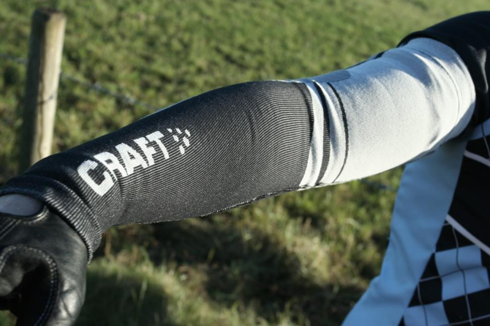 Craft Arm Warmers - worn
