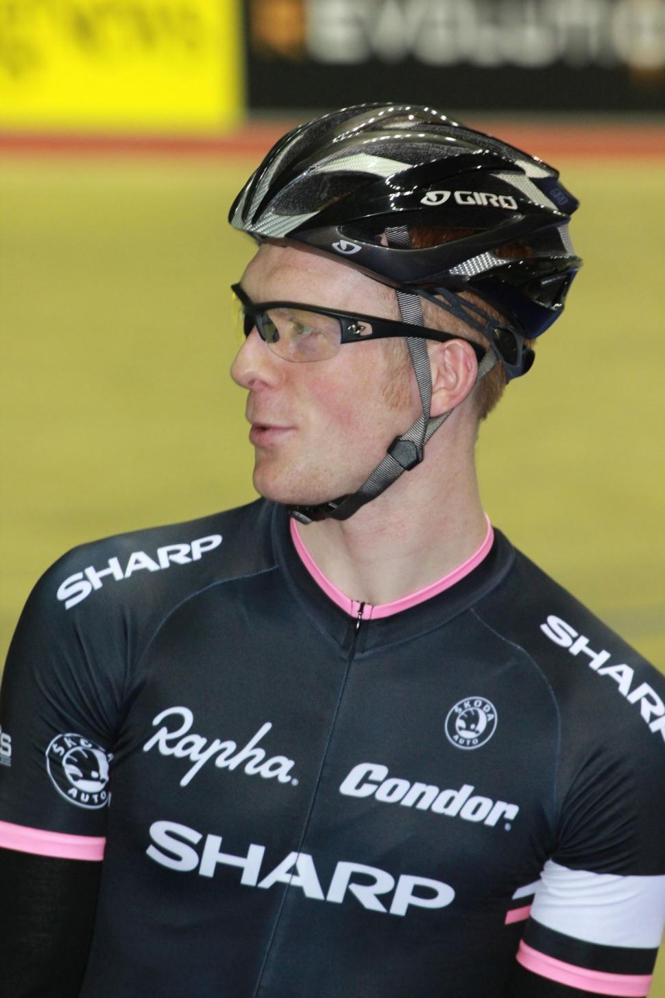 Ed Clancy – in Team Rapha Condor Sharp kit
