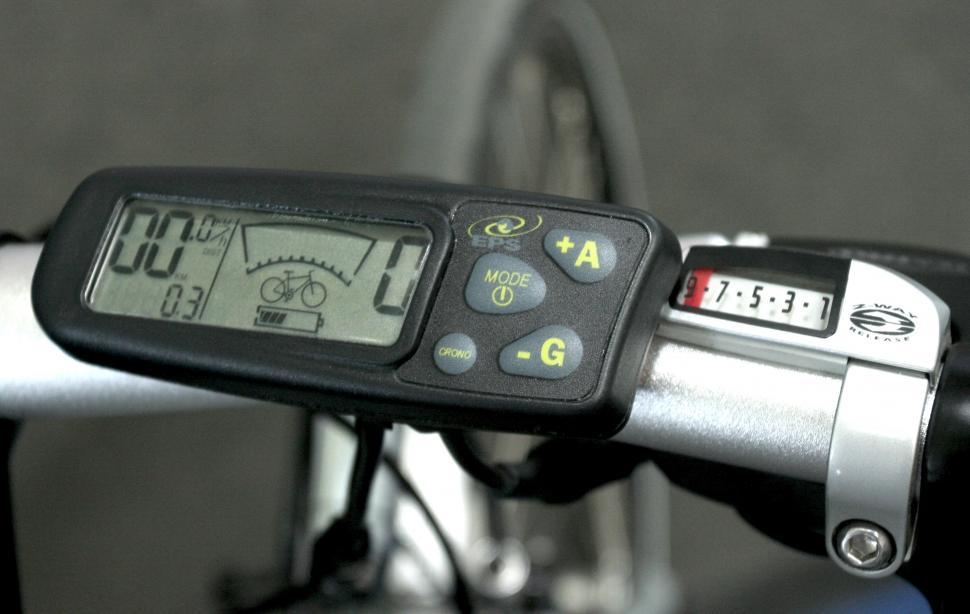 Diamant electric bike - controls