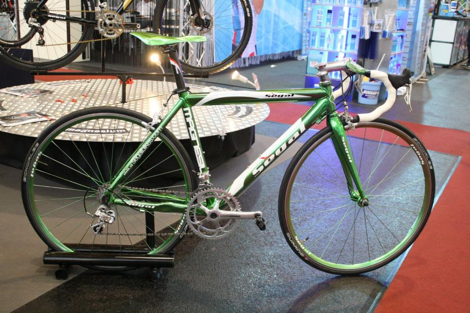 Segal brings back the magnesium bike… plus some secret ingredients ...