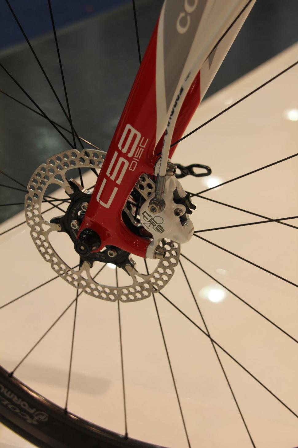 Colnago C59 Disc - front disc
