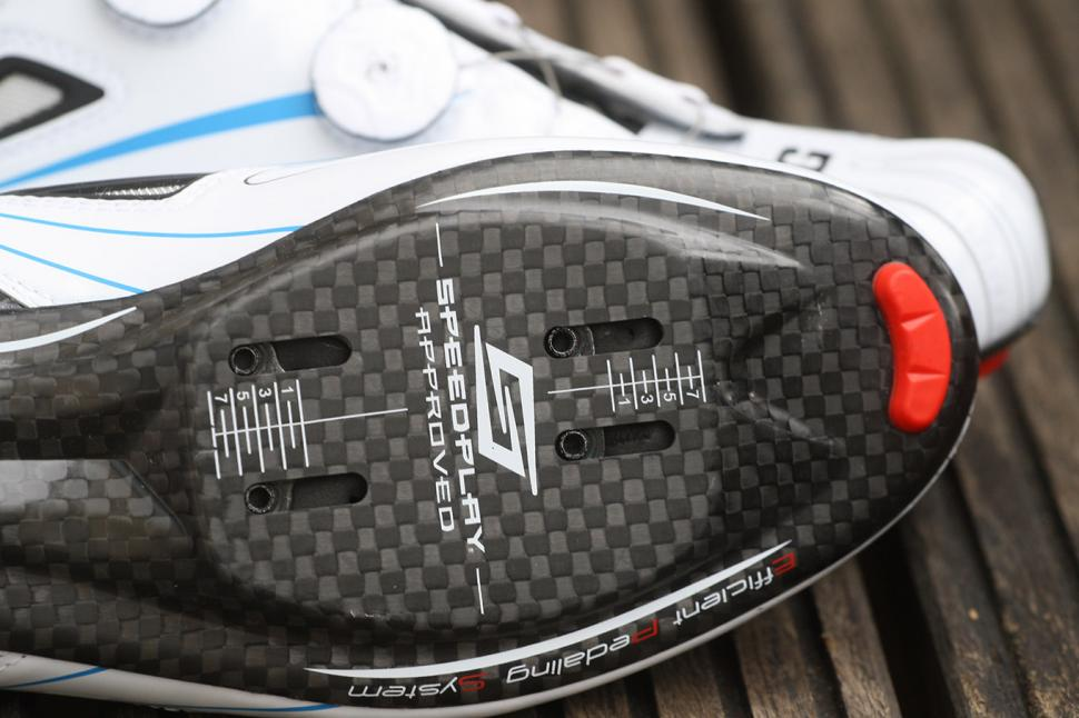 Gaerne Carbon G Chrono Speedplay road shoes - sole detail
