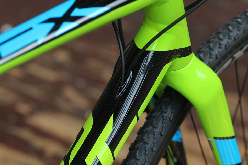Giant TCX SLR1 - cable routing