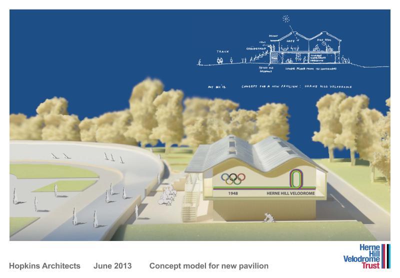 Herne Hill concept model June 2013 01