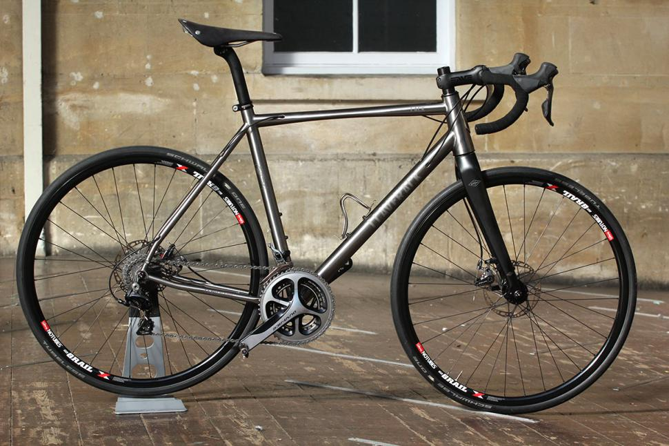 Just in: J.Laverack J.ACK titanium disc brake road bike | road.cc
