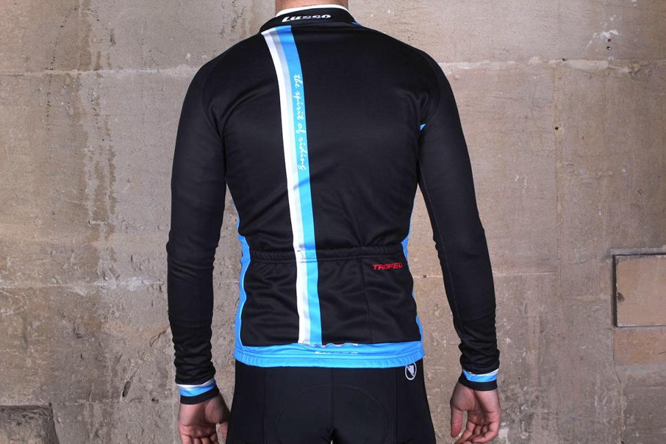 Lusso Trofeo Long Sleeved Jersey - back