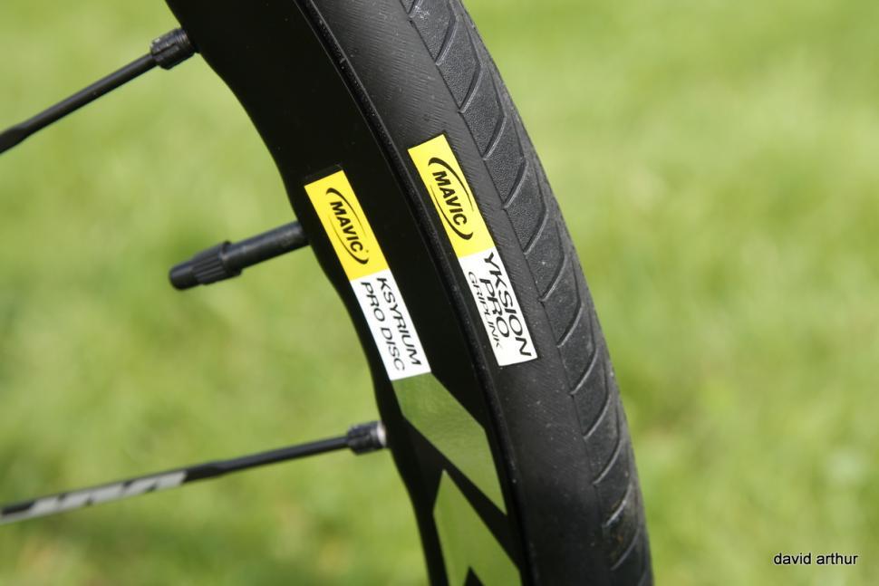 mavic Ksyrium Pro Disc wheels (5)