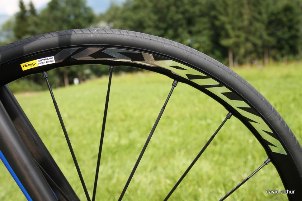 mavic Ksyrium Pro Disc wheels (8)