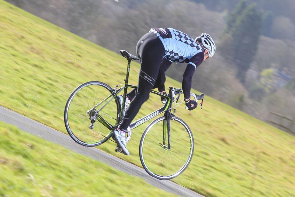 Merida Scultura Team - riding 1