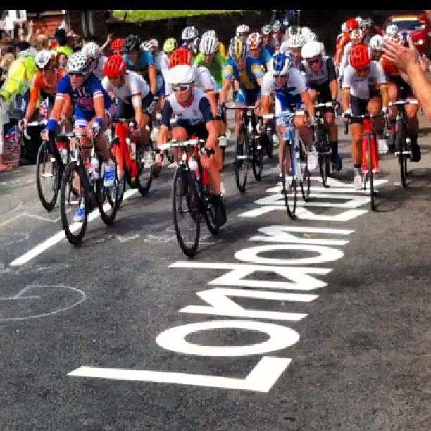 2012 Olympic women road race (picture credit Julio Romo)