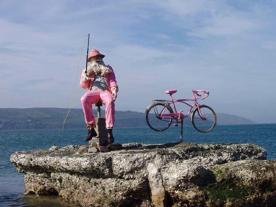 Antrim Coast Giro d'Italia fisherman