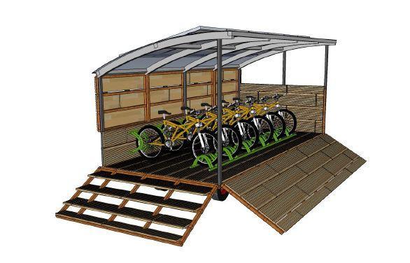 Artist's impression of New Forest mobile docking system (source NFPFA bid document)