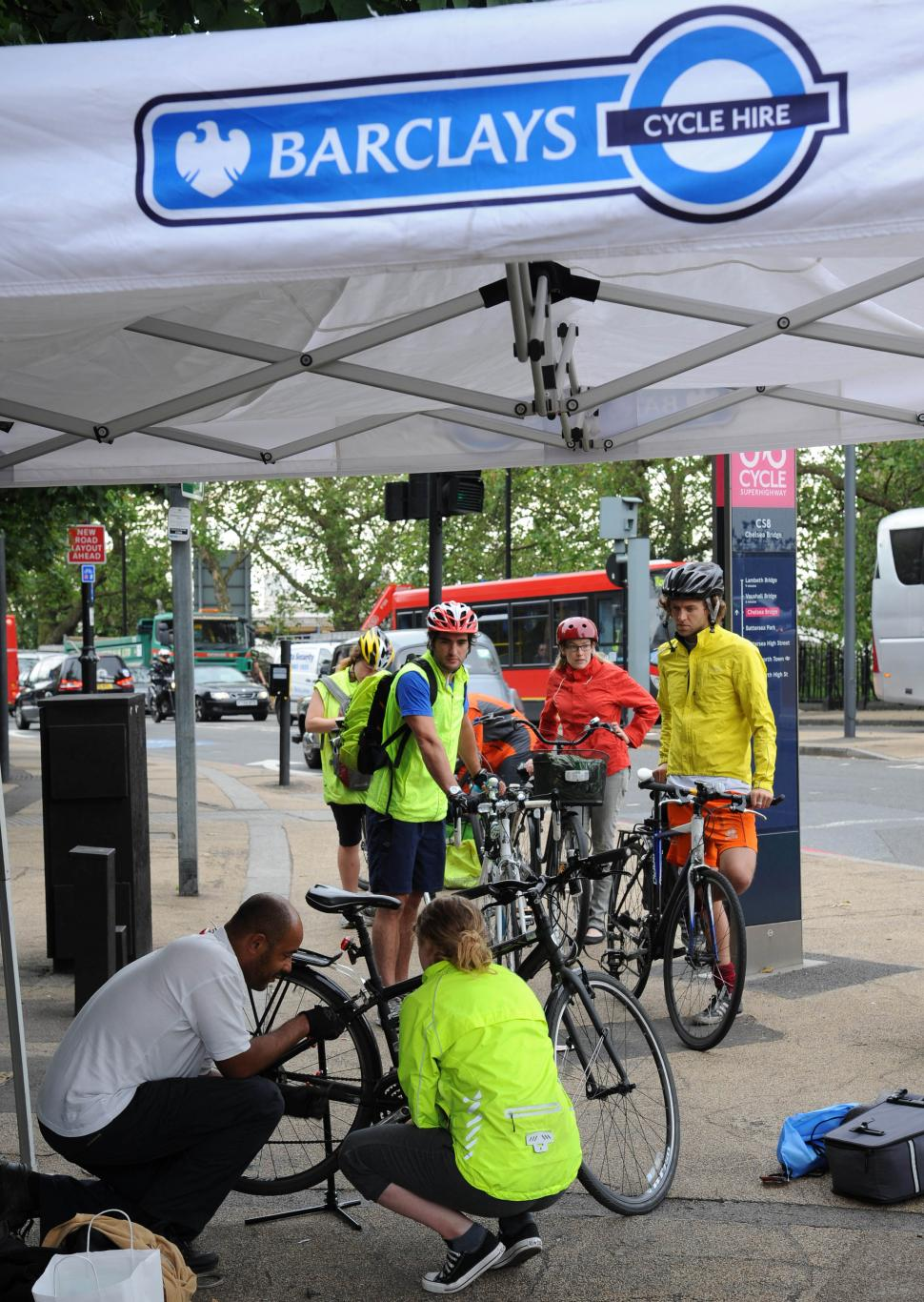 Barclays Bike Clinic