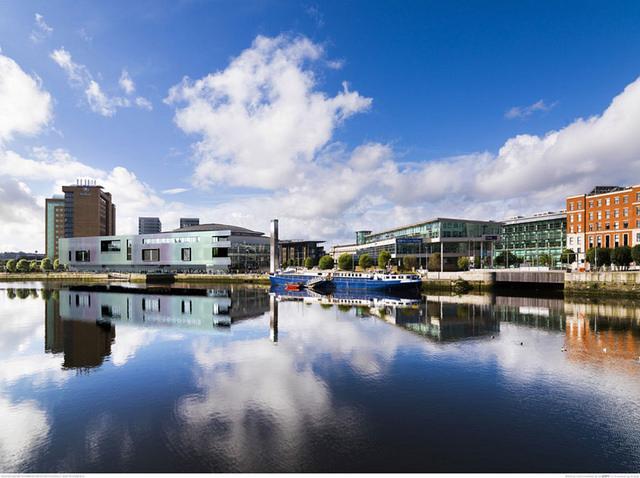 Belfast Waterfront impression (copyright Belfast City Council)