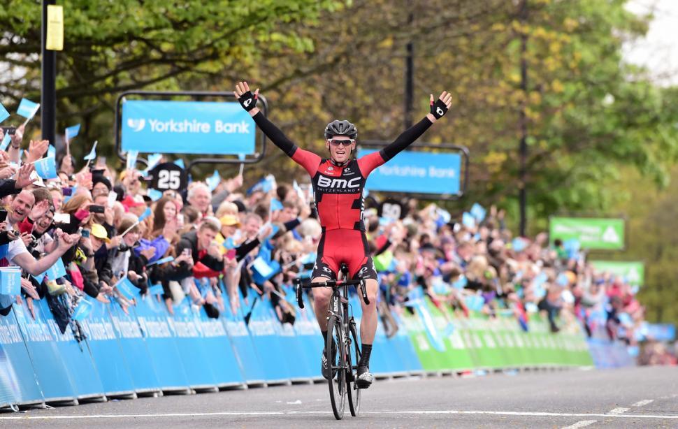 Ben Hermans wins 2015 Tour de Yorkshire Stage 3 (picture Alex Broadway, SW Pix.com)