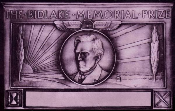 Bidlake Memorial Plaque