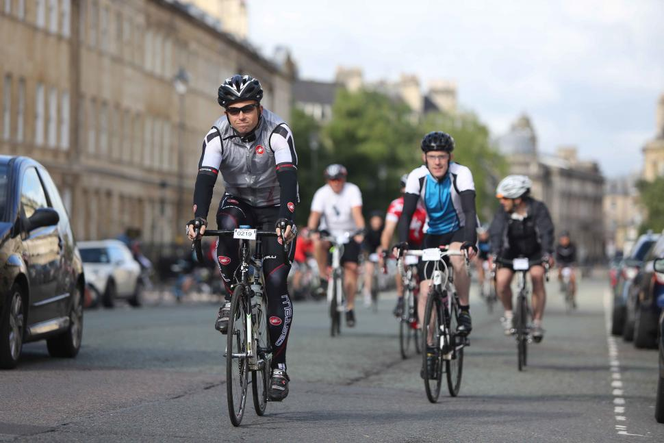 Riders enjoying last year's Bike Bath event (image via Bike Bath)