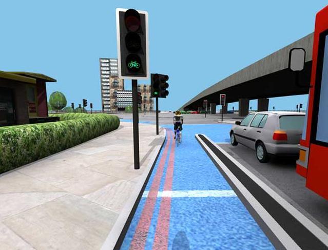 Bow Roundabout Proposals (source TfL)