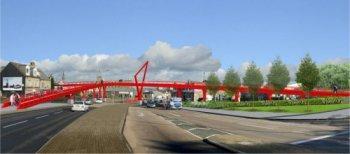 Bradford cycling bridge