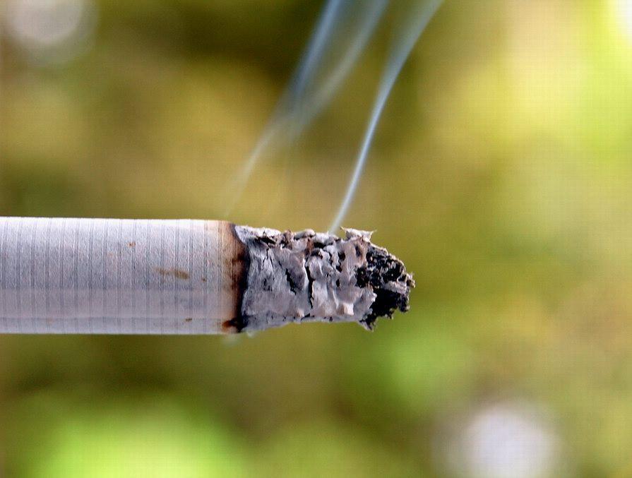 Cigarette Smoke Challiyil Eswaramangalath Vipin, Wikimedia Commons)