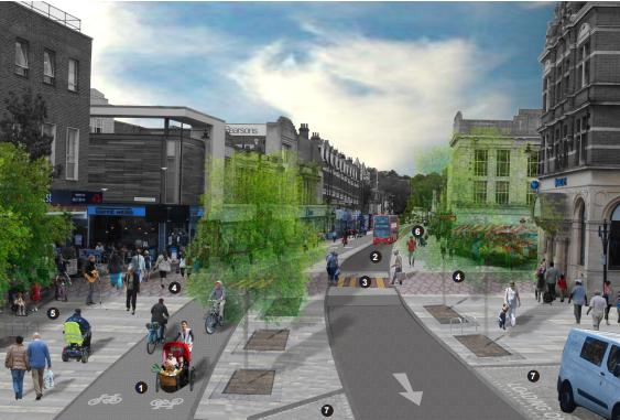 Controversial Enfield Quot Mini Holland Quot Cycling Plans