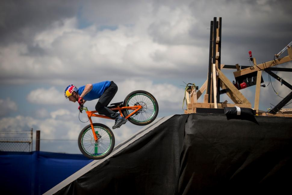 Danny MacAskill Red Bull Athlete Machine (picture credit Red Bull)
