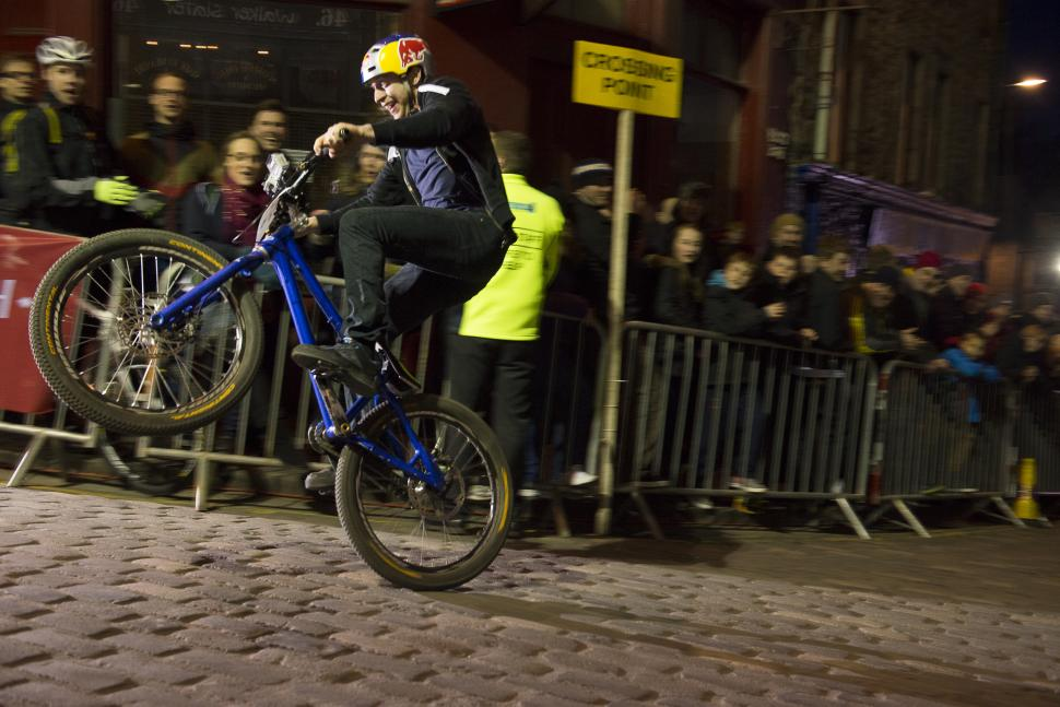 Danny MacAskill at Red Bull Hill Chasers, Edinburgh (picture Kayley Ashworth, Red Bull)