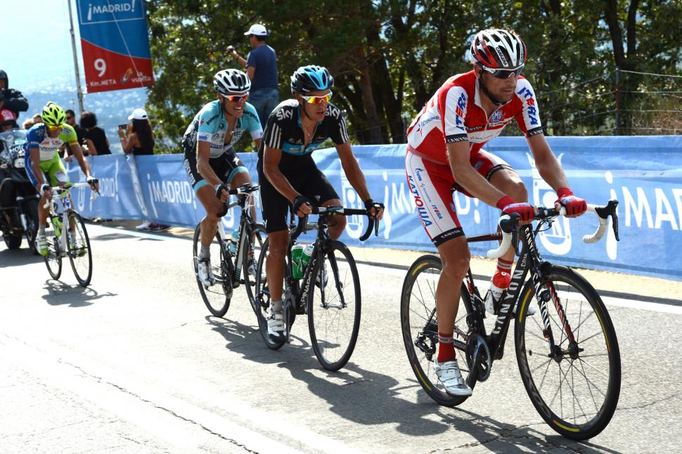 Denis Menchov in 2012 Vuelta (copyright Graham Watson:Unipublic)