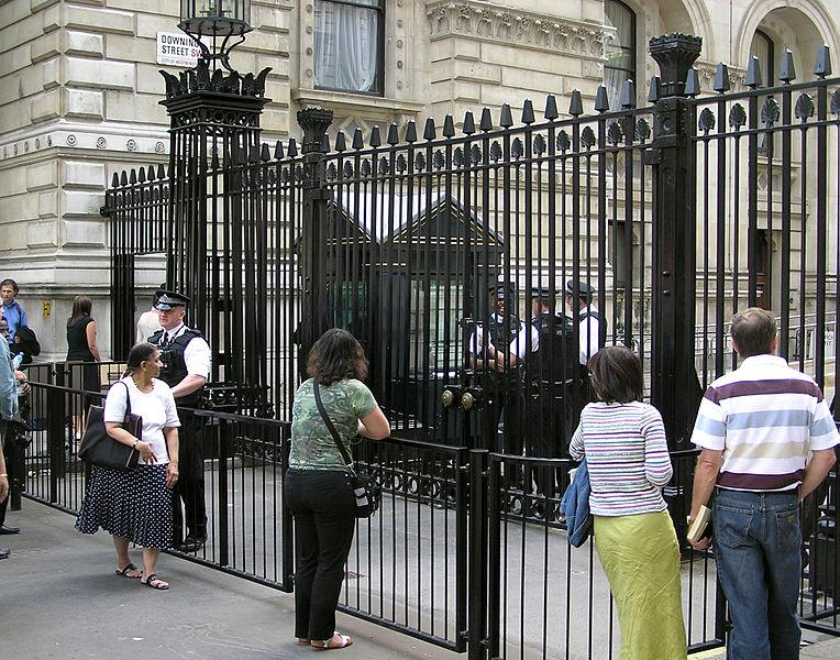 Downing Street gates