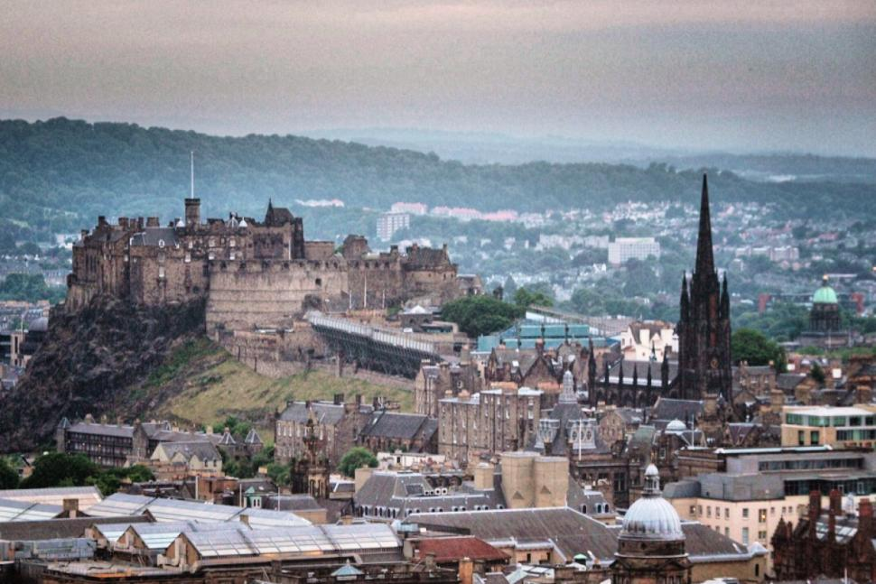 Edinburgh Castle © Simon MacMichael_