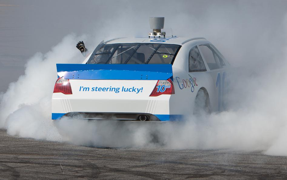 Google Racing image (picture source Google inc)