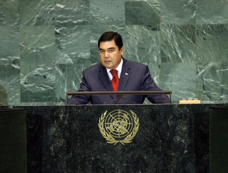 Gurbanguly Berdymukhammedov (CC licensed United Nations:Flickr