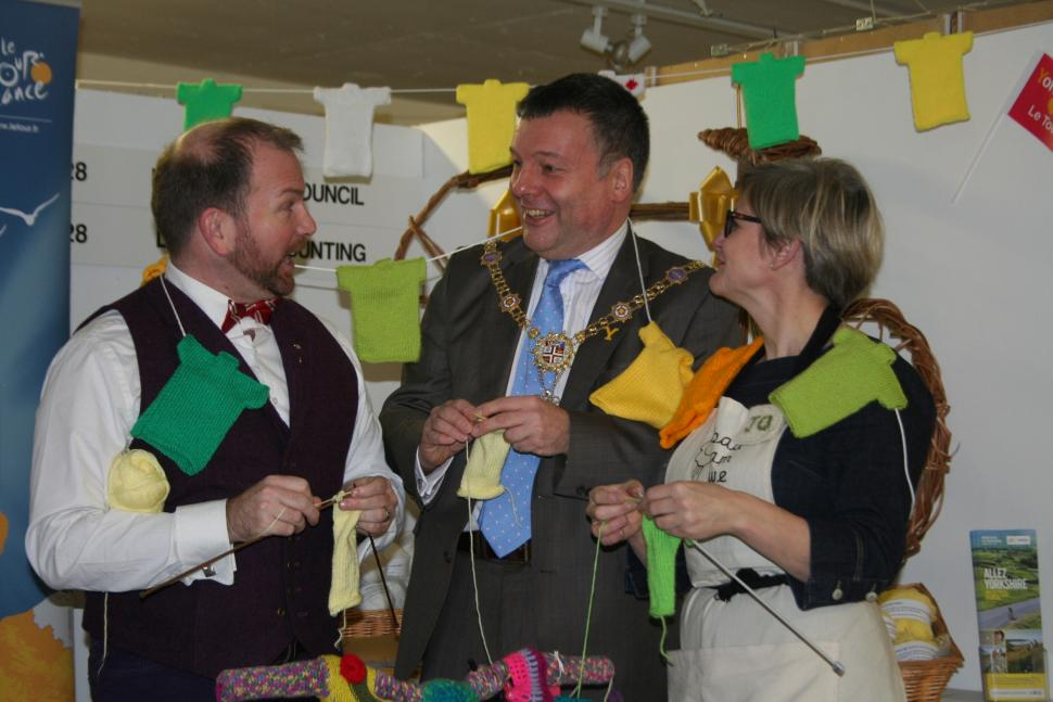 Harrogate calls for knitted bunting