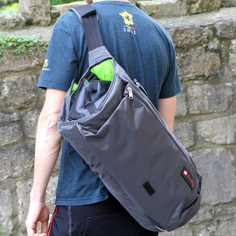 Henty Wingman Bag - worn