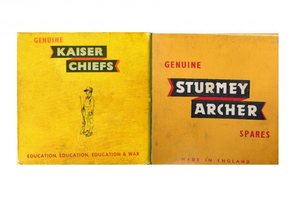 Kaiser Chiefs and Sturmey Archer