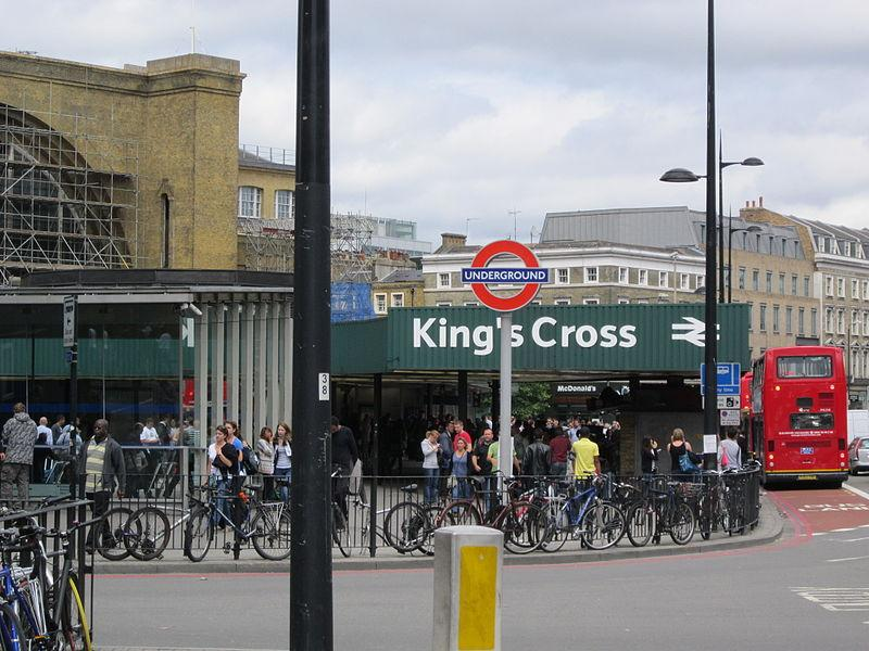 King's Cross (credit Green Lane, Wikimedia Commons)
