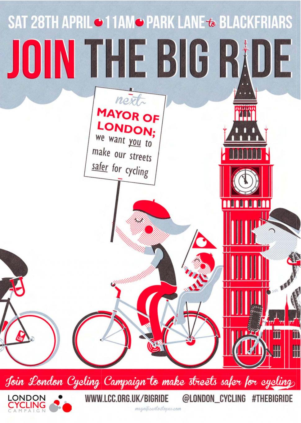 LCC Big Ride Poster
