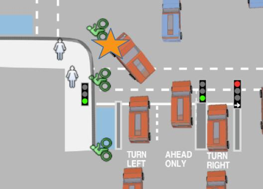 Camden To Get London S First Left Hook Preventing Separated Junction Road Cc