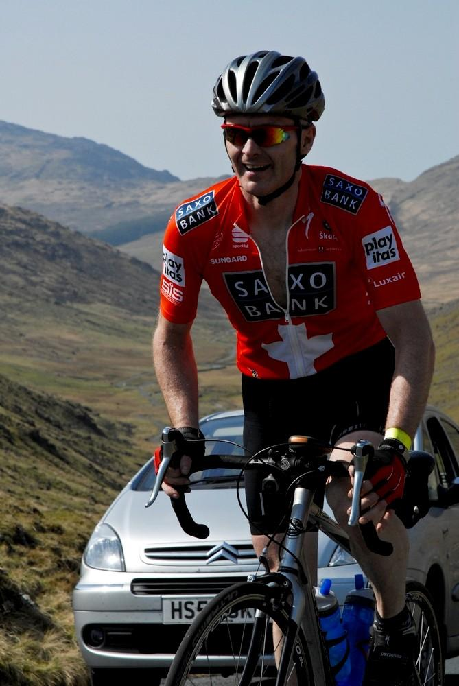 Leon Bond on the Wrynose Pass (from Sportsunday Event Photograhy Ltd)