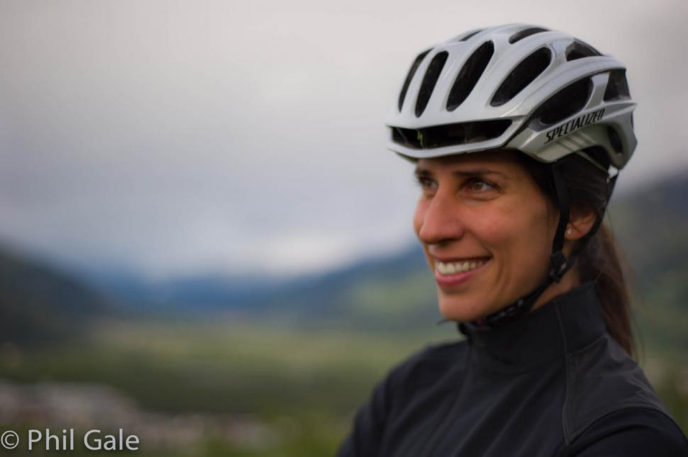 Liz Dimmock round the world record ride launch 02
