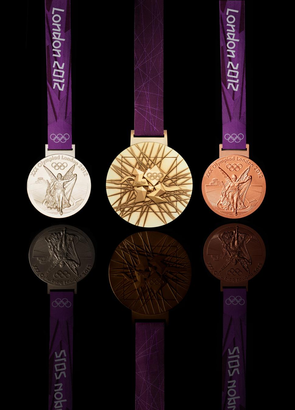 London 2012 medals