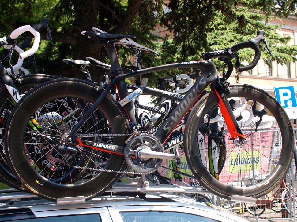 Mark Cavendish 2011 Specialized McLaren Venge