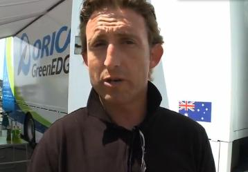 Matt White Orica-GreenEdge YouTube still