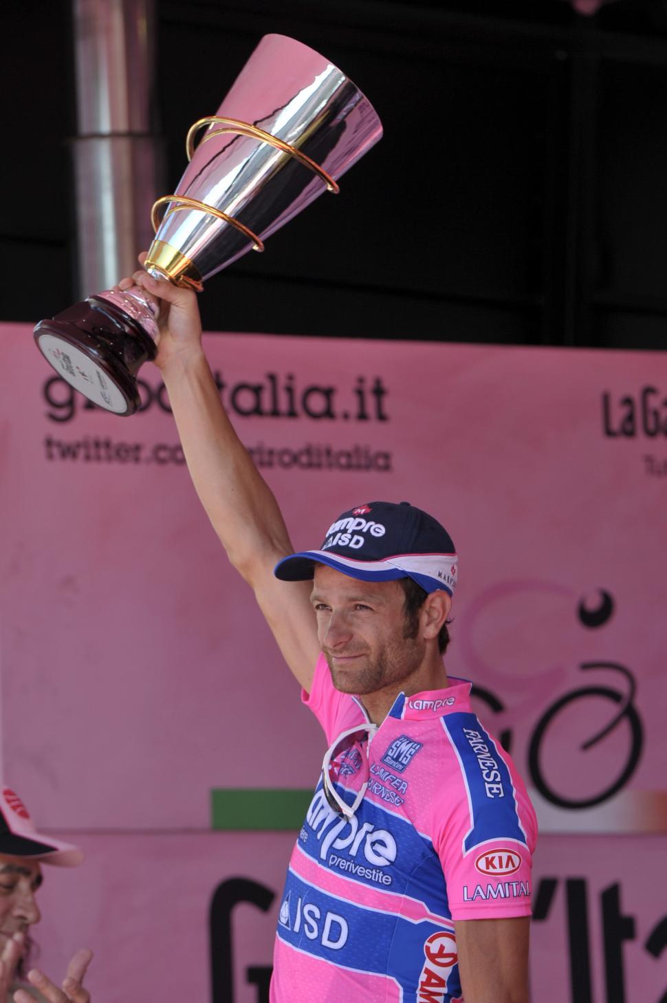 Michele Scarponi, Giro 2011 (picture Gian Mattia D'Alberto, LaPresse, RCS Sport)