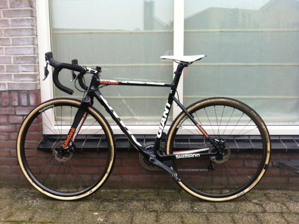 Michiel van der Heijden's disc CX bike